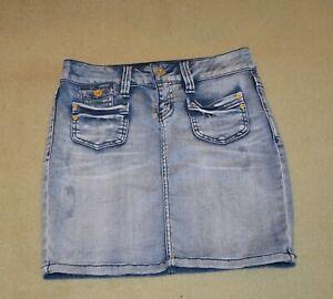 Only Jeans Rock W 27 36/38 EBBA Denim Skirt HK905 Mini