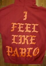 KANYE WEST I FEEL LIKE PABLO YE HOODIE MSG RED EXCLUSIVE SIZE XL WORN ONCE OFFER