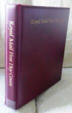 Used Royal Mail 4 Ring Dark Red  F D C Album with Pages. No MC-905..