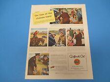 1939 Gulfpride Oil, The world's finest motor oil, Alabama Gypsy, Print Ad PA013
