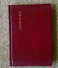 1952 Trip Book Travel Journal Samuel Ward VG++ unused record diary events HC