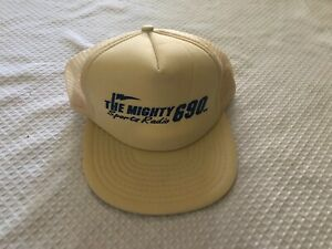 Camionneur Chapeau Casquette Baseball The Mighty 690 SPORTS Radio Old School Vtg