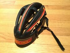 NOS vintage 80s Georges Sorel Leather Helmet Francesco Moser Sz M