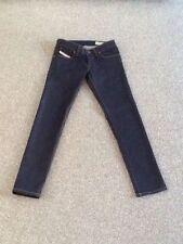 Diesel Cotton Indigo, Dark wash L30 Jeans for Women