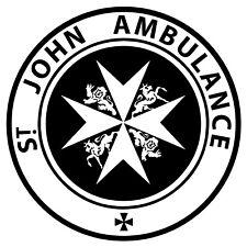 Doctor Who Tardis St. John Ambulance Vinyl Decal Sticker for Car Laptop