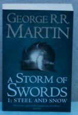 A Storm of Swords 1: Steel and Snow-UK Edition ( Items  1062-1063-1064 )