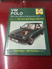 Haynes Manual Volkswagen Polo 1982-1990