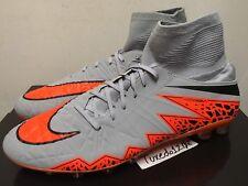 DS Nike Hypervenom Phantom II AG sz12 Grey/Orange Soccer Cleats 747488 080