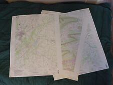 Pennsylvania USGS Topographic Quadrangle Maps - Multiple maps available!