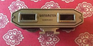 Vintage Watameter Rangefinder with Case and Instructions