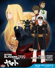 Star Blazers 2199 Space Battleship Yamato Serie Completa BOX Eps 01-26 4 Blu-Ray