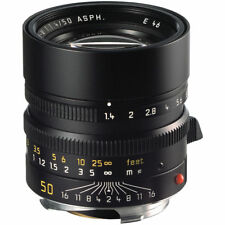 Brand New Unused Leica SUMMILUX-M 50mm F1.4 f/1.4 ASPH. 6-Bit Black M 240 11891