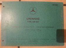 Mercedes Unimog Motoren OM621 Ersatzteilkatalog