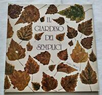 IL GIARDINO DEI SEMPLICI LP OMONIMO VINYL 33 GIRI 1975 ITALY CBS 81170 NM/NM