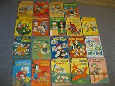 DELL & GOLD KEY- Walt Disney Mickey Mouse,Donald Duck, Comics 19 Book Lot
