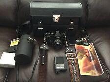Vivitar 400/SL Camera and Accessories