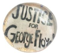 Justice For George Floyd Pin, I cant Breathe, George Floyd Mattered