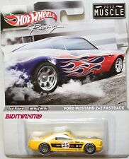 HOT WHEELS RACING 2012 MUSCLE FORD MUSTANG 2+2 FASTBACK W+