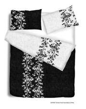 Lenzuola e biancheria da letto floreale bianco da 1 piazza, singolo