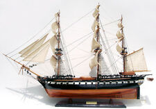"USS Constitution Tallship Assembled 35"" Wooden Ship Model"