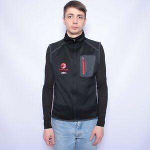 Ortovox Mens Full Zip Vest Merino inside size M Black