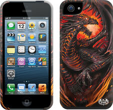 Espiral directo Dragon Horno Apple Iphone 5/5s teléfono móvil Estuche/cubierta, Biker