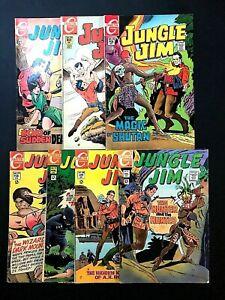 Charlton Comics Jungle Jim (1969) #'s 22,23,24,25,26,27,28 Full Run!