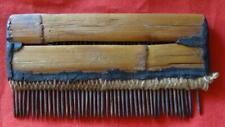 Precolumbian WOOD COMB  HUARI Culture Peru c 1300 AD.