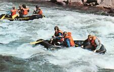 UNIONTOWN PA 1962 Whitewater Boating on Youghiogheny River VINTAGE RAFTING 489