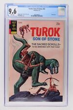 Turok, Son of Stone #85 - Gold Key 1973 CGC 9.6 Painted cover.