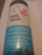 Pink Stork Lactation Herbal Mint Nursing Tea Caffeine Free Organic