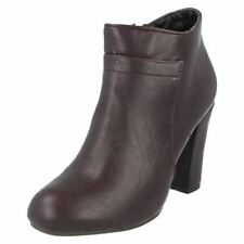Calzado de mujer Botines color principal marrón talla 37