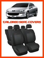 TAILORED SEAT COVERS for Peugeot 407   FULL SET - 3