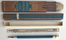Vintage Eagle Turquoise 3375 Mechanical Pencil Lead Holder 2mm Box Papers USA