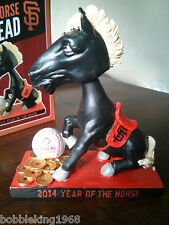 SF Giants 2014 Chinese Heritage Year of the Horse Special Event bobblehead 04/29