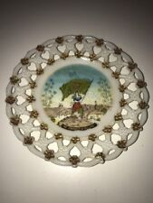 """The Sunburst Of Ireland - ULTRA RARE 7"""" Fenian Glass Collectable Cabinet Plate"""