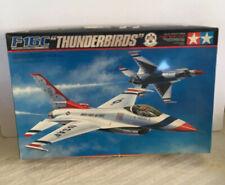 (New) Tamiya F-16C Block 32 Thunderbirds Air Force 1/32 Scale Model Airplane Kit