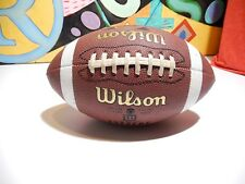 Wilson Ncaa Composite Supreme Leather Junior Size American Football. use 1 time.
