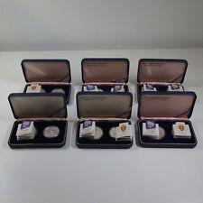 [R1264] Olympische Winterspiele 1994, Lillehammer, 6 x 50 + 100 Kronen Silber