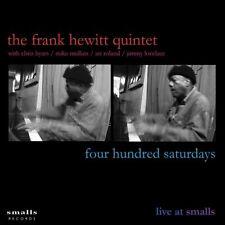Frank Hewitt - Four Hundred Saturdays Smalls Live CD  NEU OVP