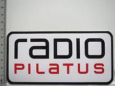Aufkleber Sticker Radio Pilatus - Webradio - Stream Live (6425)