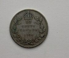 CANADA 1934 GEORGE V CANADIAN 10 CENT D31