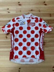 Tour de France Mountains Award Jersey Cycle Jersey Nike NIKE size L