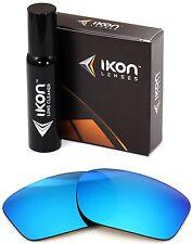 Polarized IKON Iridium Replacement Lenses For Oakley Pit Boss 2 II Ice Blue