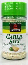Lawry's Garlic Salt Coarse Ground with Parsley 3 oz Lawrys