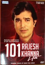 101 Rajesh Khanna Hits - Bollywood Songs DVD, 101 Songs In 3 DVD Set