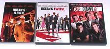 DVD Sammlung OCEAN´S TRILOGIE (11 + 12 + 13) Eleven, Twelve, Thirteen OCEANS