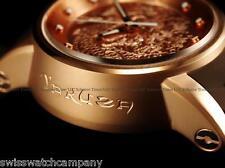 Invicta Mens S1 Yakuza Dragon 24J Automatic 18K Rose Gold SS Brown Strap Watch