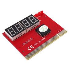 POST CARD Tester strumento diagnostico computer PCI PC analisi scheda madre V2