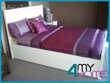 SALE Ibiza Quality Queen 4 Drawers Foot-end Storage Bed white 4myhomecomau